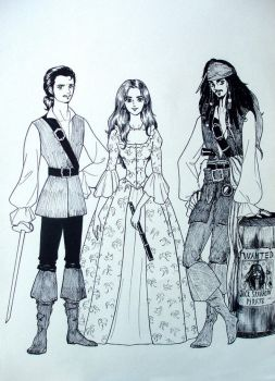 Pirates of the Caribbean by tilywendy