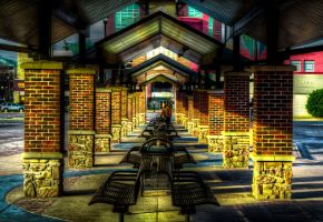 Bus Station HDR by joelht74