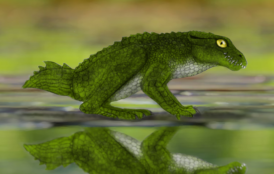 Frogcroc by Dragonthunders