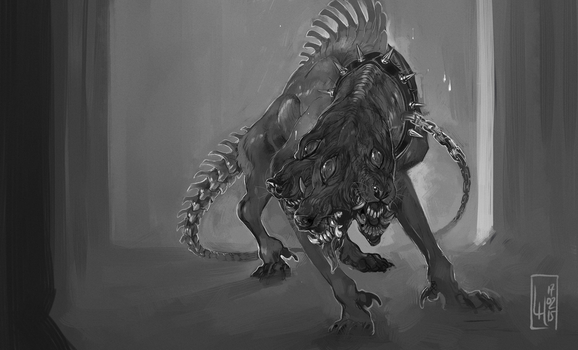 Guardian black and white high res by LiLaiRa