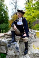 King of the rock - APH cosplay by blanelle29