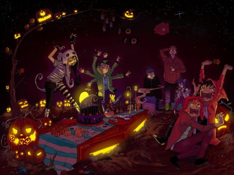 Invader Zim x AHH! Real Monsters: Happy Halloween! by e-hima