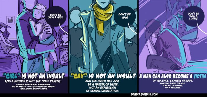 Men are human too by beiibis