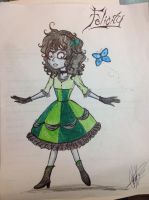 CB: Daughter of the Corpse Bride by IceMaidenChiyoe
