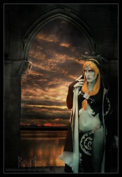 Midna, the Twilight Princess by EmberRoseArt