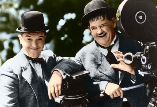 Laurel and Hardy 4 by ajax1946