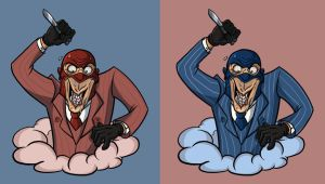 Spy vrs Why by OhSadface