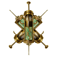Steampunk antivirus icon V2 by pendragon1966