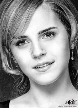 Emma Watson by riefra