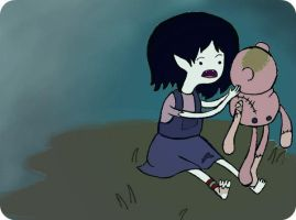 Marceline and Hambo by Moonrisepower