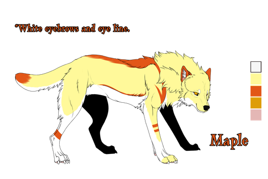 2014 Character Ref - Maple by Zu-Nasr