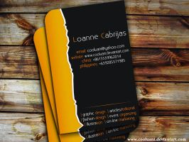 My New Name Card by cooluani