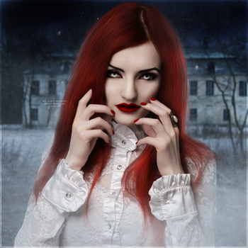 Frozen Vampire by nadinebw