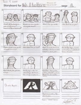 Storyboard - VALV 8, 1-2 by darkarcompany