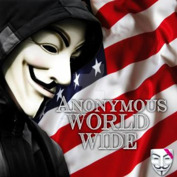Anonymous world wide America by Valkyrie-Gaurdian