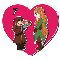 14 Days of OTP Treats_KilixTauriel by MevrouwRoze