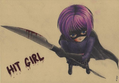 Hit Girl by yaten-no-kittygirl