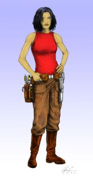 Spacer Chick by Halicron