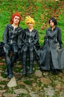 Axel, Roxas and Xion - Trio by Achico-Xion