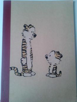 Calvin and Hobbes notebook by marioferpa