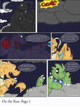 -On the Run: Page 1 by PlumpProductions