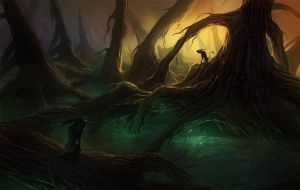 Mystical Forest by SirenD