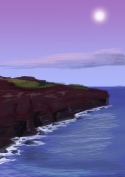 Holei Pali volcanic cliff - Hawai by ScathVelhacos