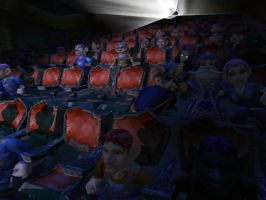 Gnomeregan Theater WoW by Pinkhair3d