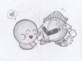 Kirby: Brother!!! by RoseBereArtist