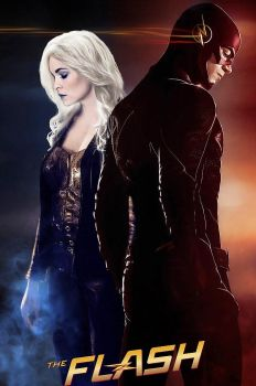 Flash and Killer Frost by RussiaNet