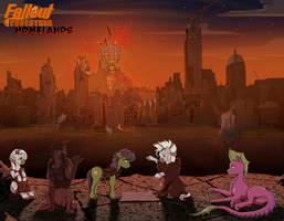 Fallout Equestria Homelands by LuckyDragoness
