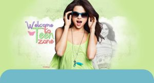 Selena Gomez header by SaraFashionDesign