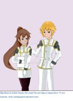 commission:SO4 Edge and Reimi by Animequeen111