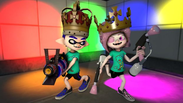 Royal Ice Cream - Splatfest (SFM/4K) by rocketboy3005