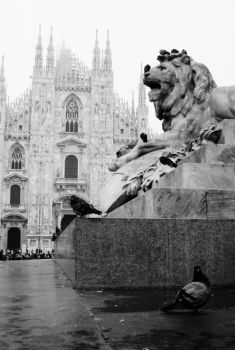 Christmas in Milan by ArtistWithoutName
