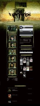 The Descention Myspace Layout by ibaldwindesign