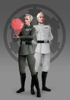 Wilhuff + Wullf - Star Wars Rebels Concept by Brian-Snook