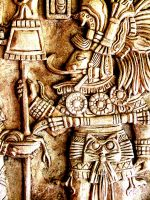 Mayan Carving 1 by iseePhotos