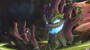 Maokai, the Twisted Treant by ArtMnky