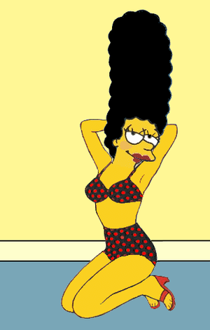 Marge Simpson by paulibus2001 on DeviantArt