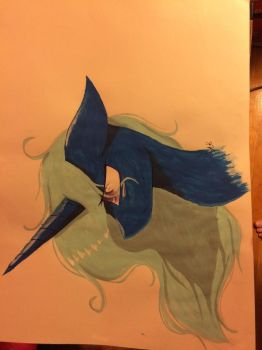 Pony painting by Pinkdolphin147
