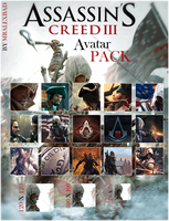Assassin's Creed 3 Avatar Pack by MrAlexBad