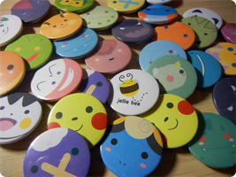 Pokemon Badges!