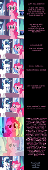 Pinkie Pie Says Goodnight: Sleepless by MLP-Silver-Quill