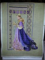 Celtic Spring- Completed Cross Stitch by ShadowWingLG