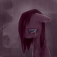Pinkamena Cry by IFtheMaineCoon