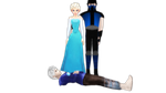 Elsa Foot On Jack Frost Body Sub Zero Watch by kari5