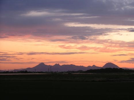 The Buttes tonight by Christshonna