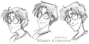Harry Heads - HP by lberghol