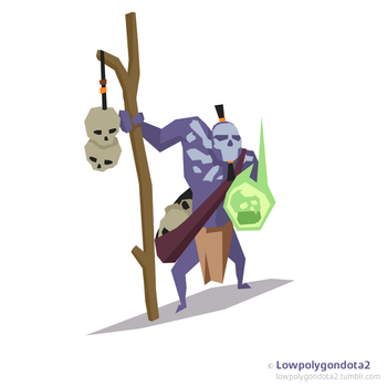 Witch doctor Dota2 by AHTiXPiCT